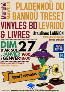 1er Marché aux Vinyles, BDs & Livres @ Salle des Ursulines