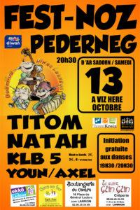 Fest Noz Pederneg @ Salle des fêtes